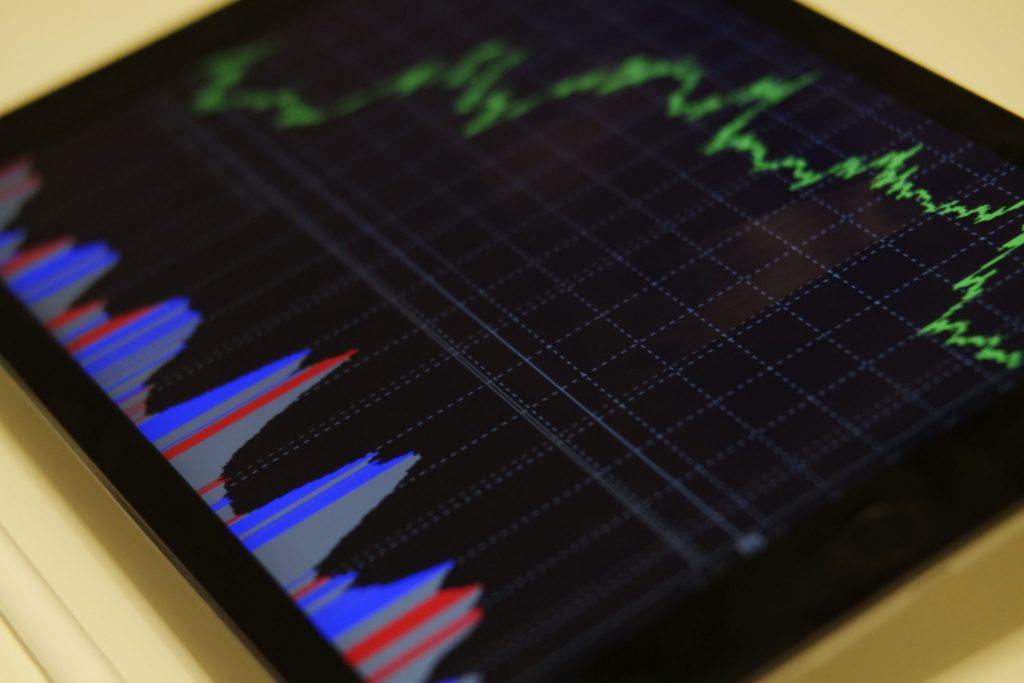 Stock market tablet